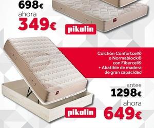 PACK OFERTA COLCHON Y CANAPE PIKOLIN 135 ANTES 1298 € AHORA 649 €