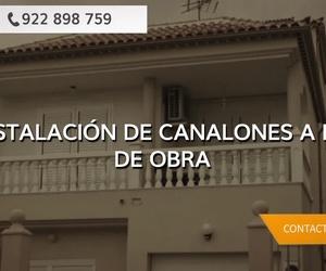 Canalones de cobre en Tenerife | La Casa del Canalón