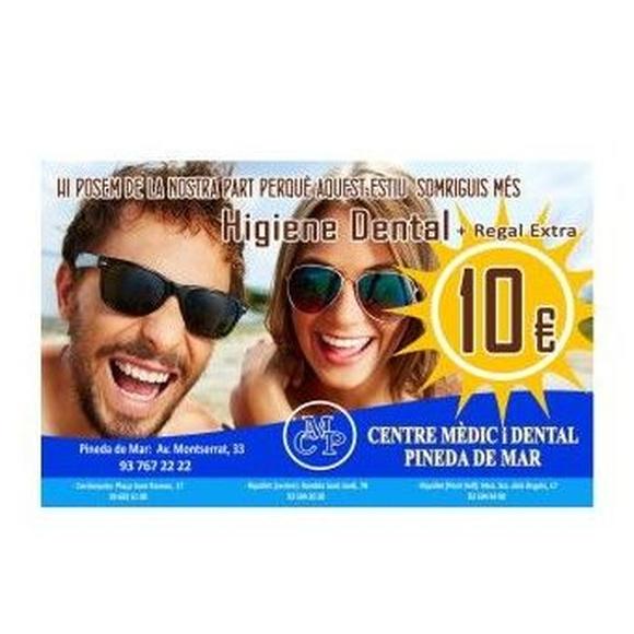 Oferta Higiene dental Pineda del Mar