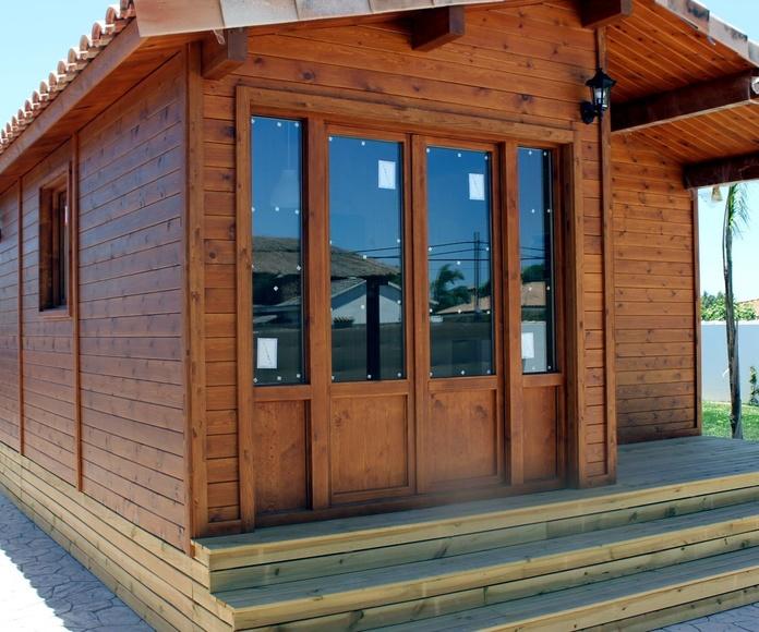 Casas de madera: Servicios de Fabricasas