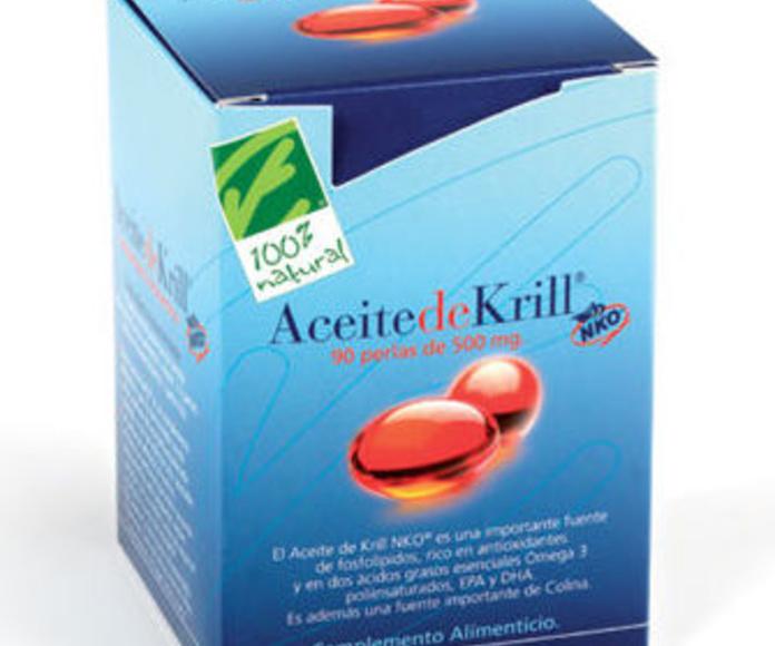 100% NATURAL, Aceite de krill: Catálogo de La Despensa Ecológica
