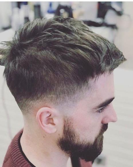 Corte de pelo de caballero