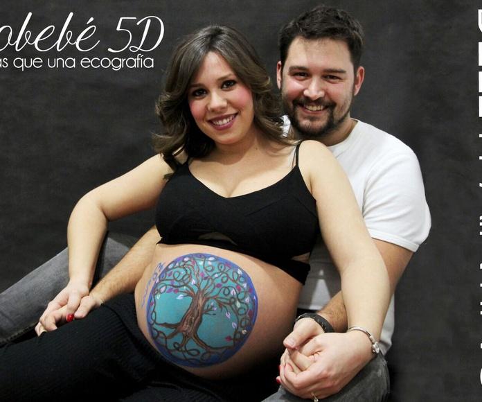 ecobebé 5d y bellypainting