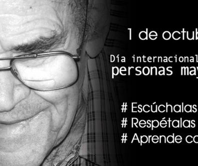 Día 1 de Octubre Día Internacional de las Personas Mayores