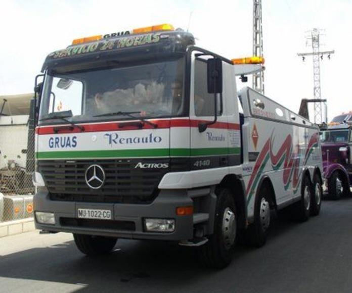 Camión Remolcador para asistencia de vehículos de gran tonelaje