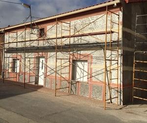 Proceso de rehabilitación de fachada