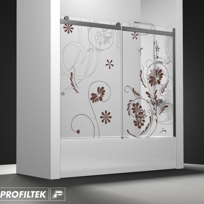 Mampara de baño a medida Profiltek serie Select modelo SLC-110