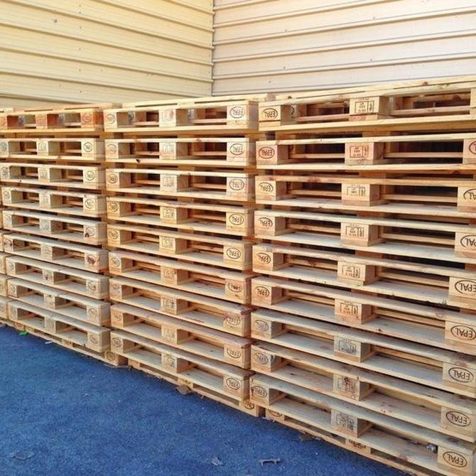 Las ventajas de utilizar palets en el transporte de mercancías