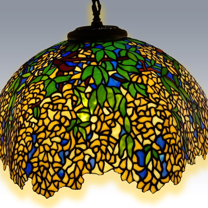 Las lámparas Tiffany