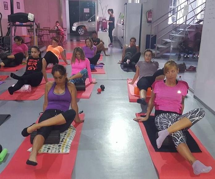 Pilates terapéutico: Servicios de Reactiva-T