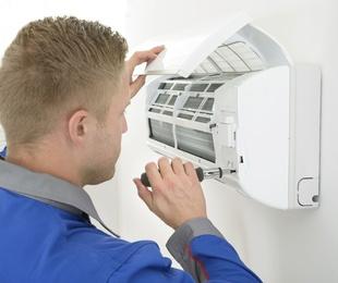 Mantenimiento y carga de gas de aire acondicionado