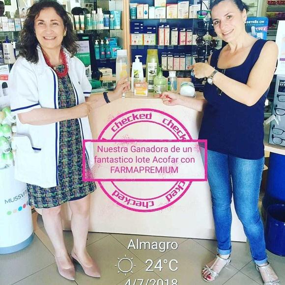 Ganadora de la tarjeta de Farmacia Carmen Hervás de Ciudad Real