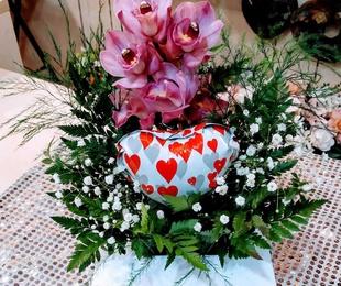 Ramos y centros para este San Valentín