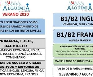APOYO A LA E.S.O. VERANO 2020 DEL 1 DE JULIO AL 30 DE AGOSTO