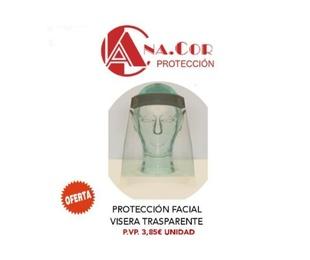 Venta de protección facial