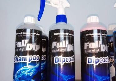 Productos para el tratamiento vinilo líquido