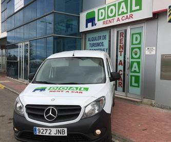 Alquiler de minibuses: Servicios de DOAL Rent a Car
