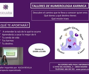 Talleres de numerología cármica Madrid