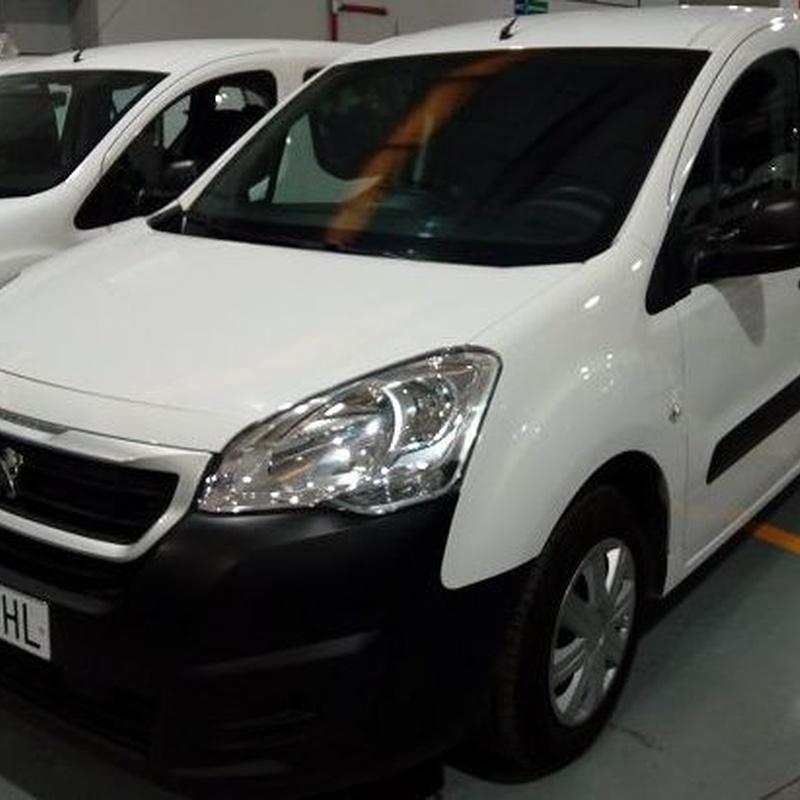 PEUGEOT PARTNER COMERCIAL 1.6 75CV: servicios y vehiculos de Virolla