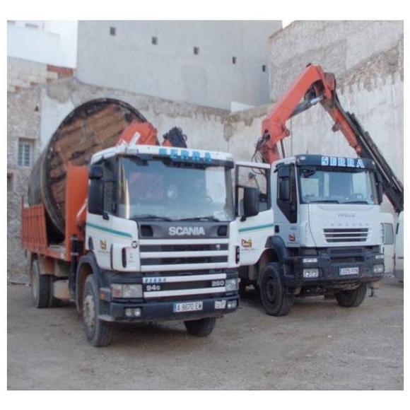 Camión grúa: Nuestros servicios de Hijos de Miguel Serra