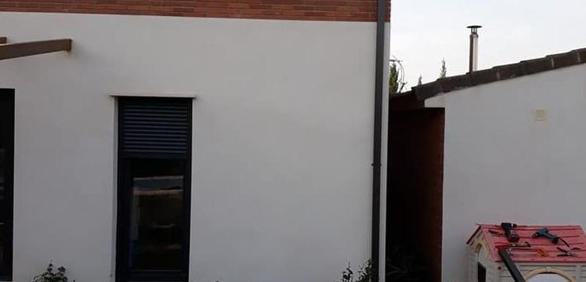 Instalación de canalones y bajantes en Teruel