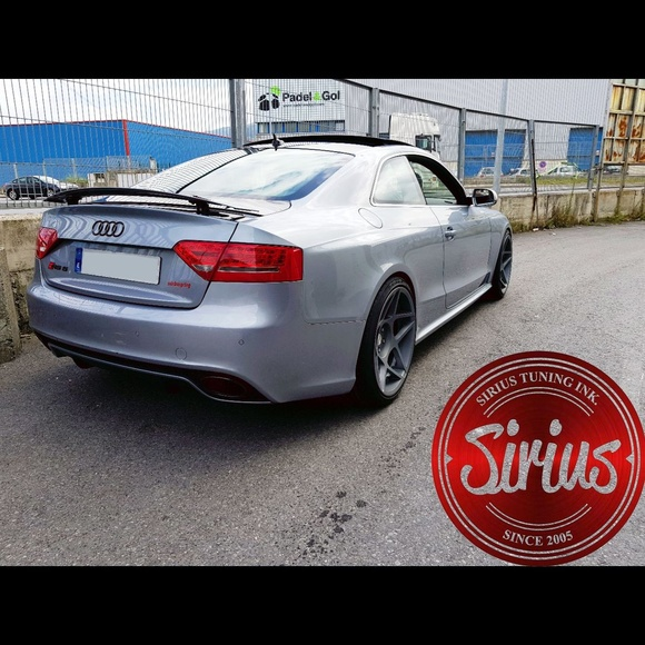 Audi RS5 - 3SDM & H&R }}