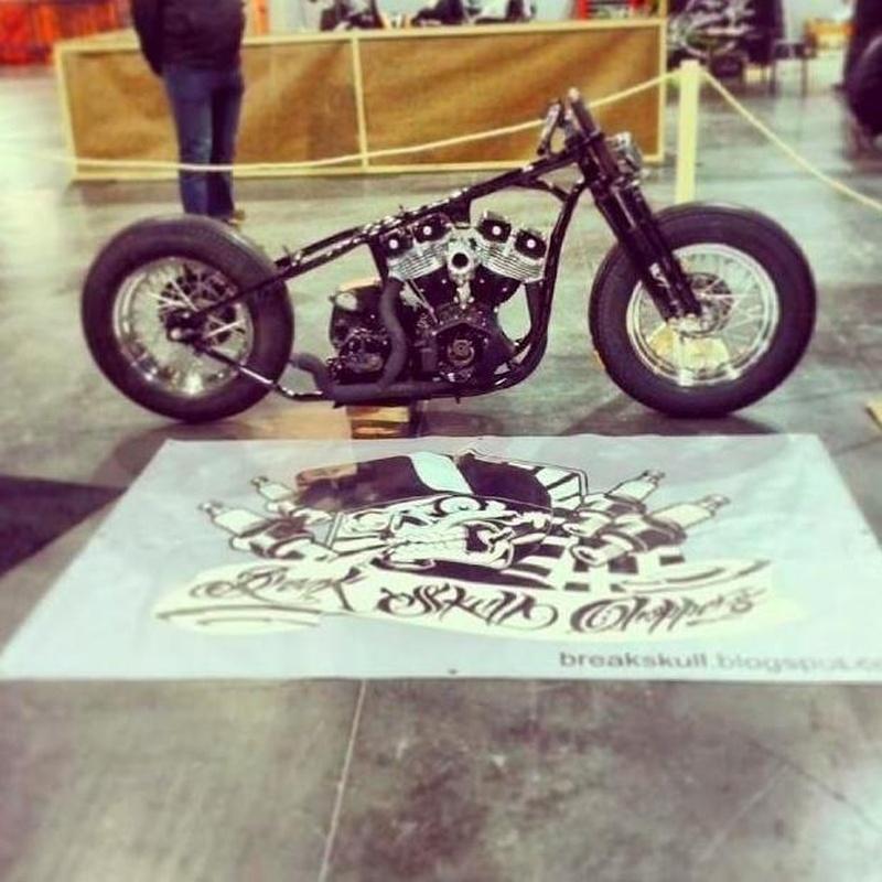 Transformación motos custom, Personalización motos custom, Restauración motos custom, Preparación motos custom, Reparacion motos custom, Tranformacion motos Harley Davidson, Break Skull Choppers, Restauracion motos clasicas, Personalizacion motos clásica