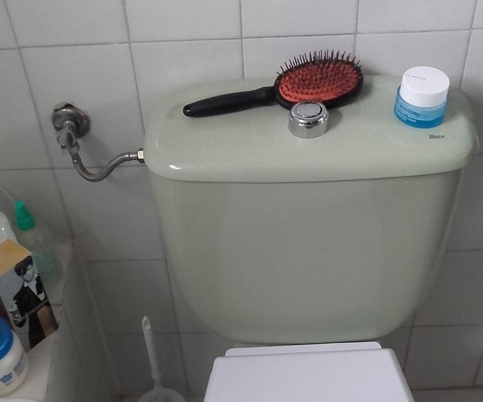 Desmontaje de inodoro para demoler bañera en Móstoles