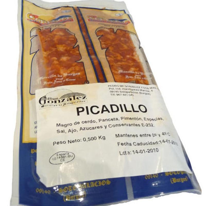 Picadillo: Productos de Hermanos González