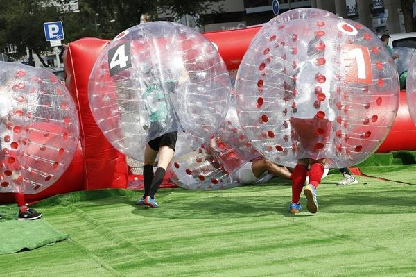 Bumper Ball + campo futbol