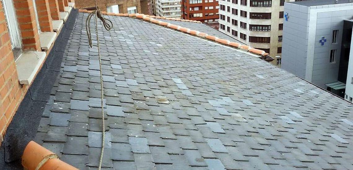 Rehabilitación de tejados de pizarra en Asturias