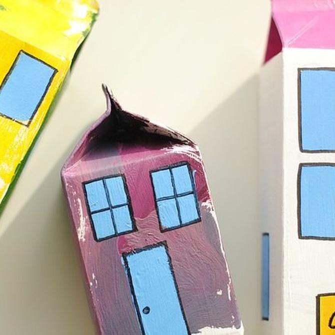 Ejercita el cerebro de los niños con cajas de cartón