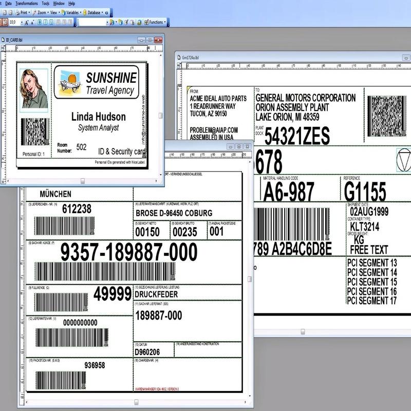 Software Etiquetado: NiceLabel: Productos y Servicios de STGlobal - Identificación y Etiquetado