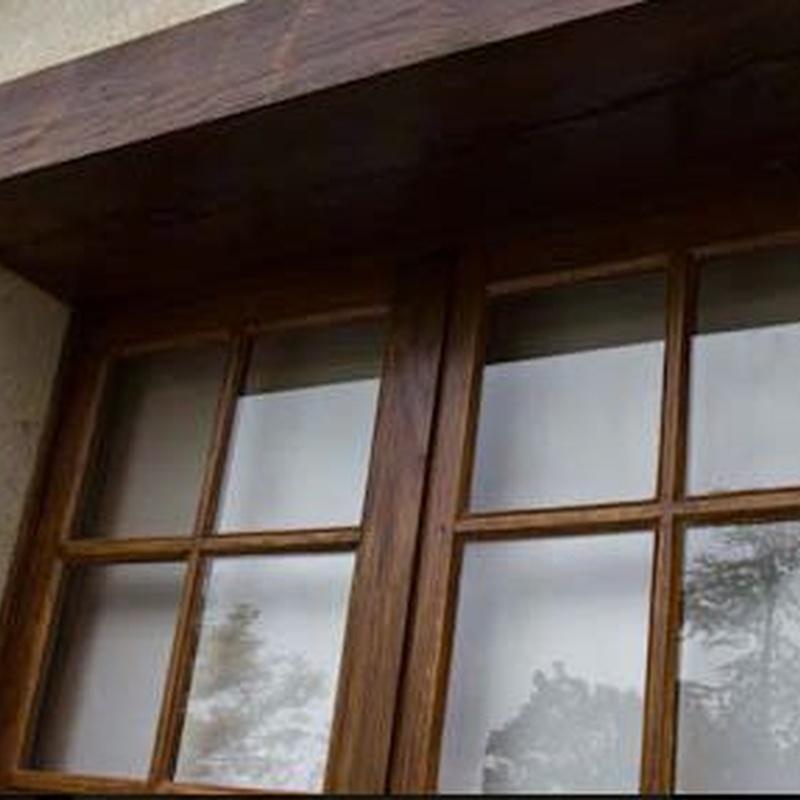 Puertas y ventanas: Servicios de Carpintería José Luis González