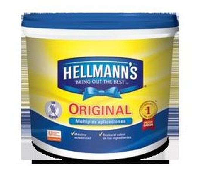 Mayonesa Cubo de 5 Kgs. Marca HELLMANN`S