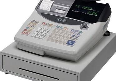 Registradora CASIO TE-2200