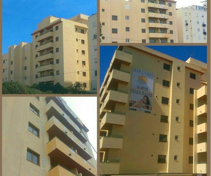 proceso de reparación de los apartamentos Mar Y Vent