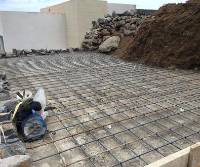 Comenzamos construcción de piscina en Santa Úrsula