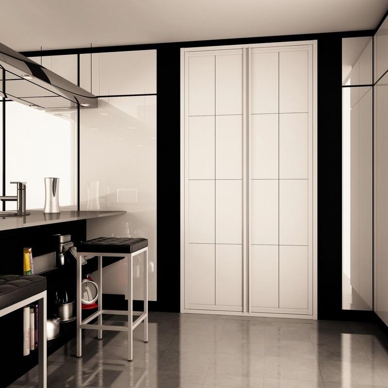 Frentes e Interiores de Armario: Cristalería y Aluminio de Aluminios y Cristalería Gutiérrez