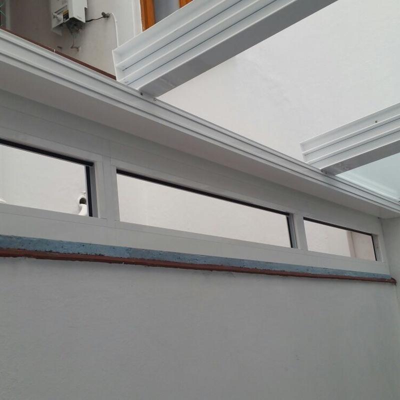 Techos corredera con cristal motorizado: ALUMINIO - PVC de ALUMINIOS CARPAL