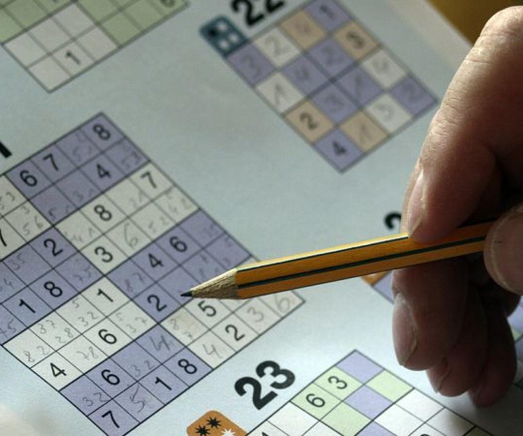 Sudoku y otros pasatiempos buenos para la mente de los mayores