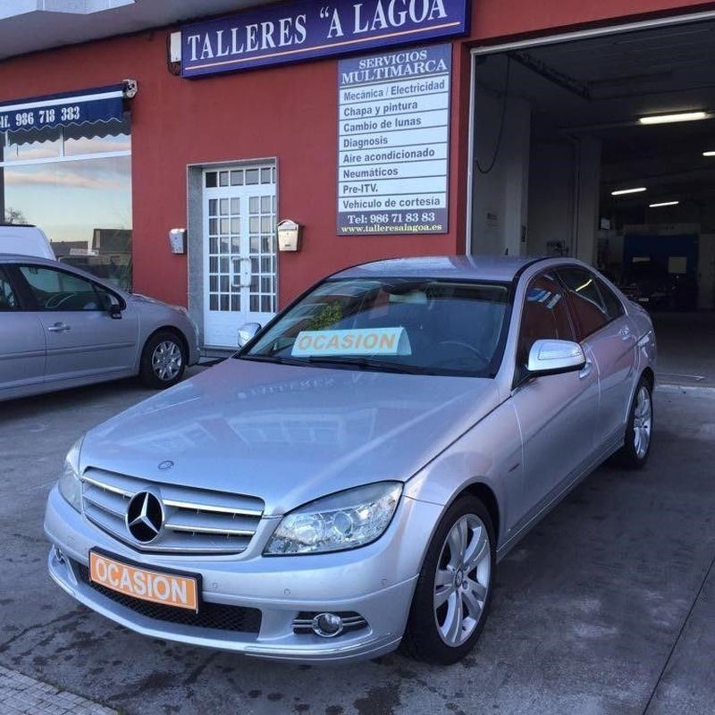 Mercedes C 220CDI Automático:  de Ocasión A Lagoa
