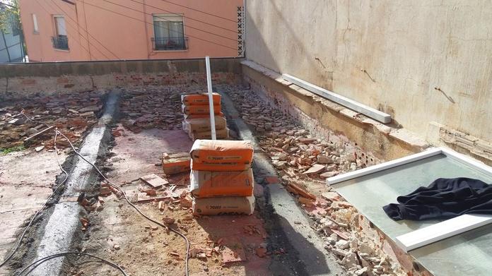 Rehabilitación de terraza: Servicios de Construcciones Antonio Cruz Moreno