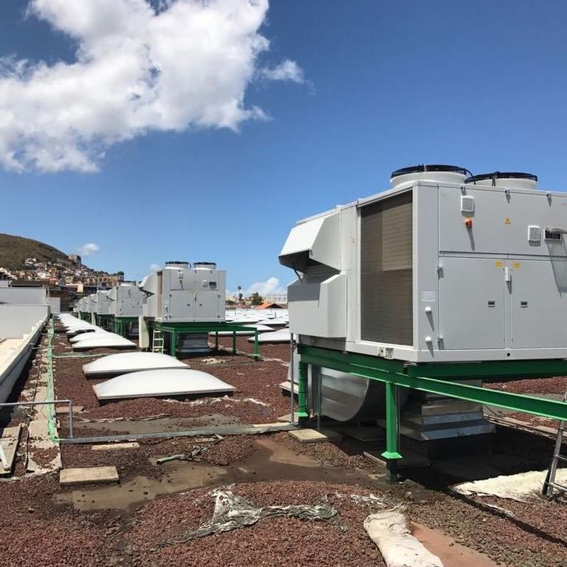 Climatización industrial en Tenerife