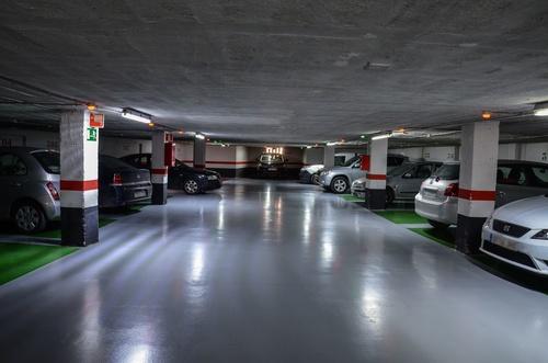 Parking en el centro de Murcia