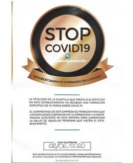 Establecimiento formado en COVID-19