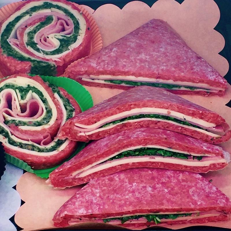 Roll Meat y Sándwich de Carne