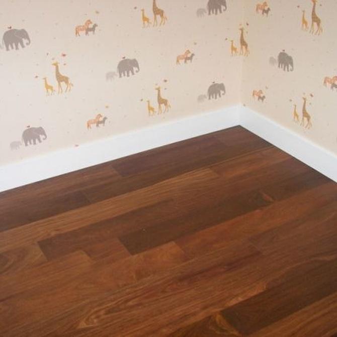 Mantenimiento de suelos de madera