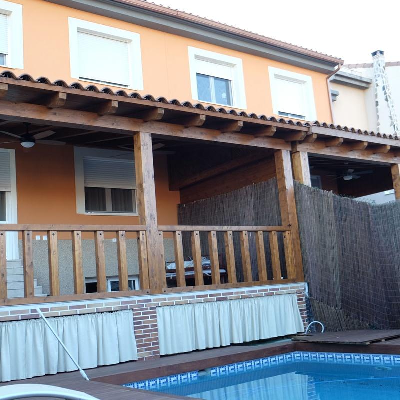 Porches de madera, Toledo