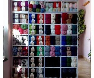 Tienda de lanas en Iznájar, Córdoba